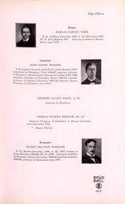 Page 13, 1917 Edition, Brown University Womens College - Brun Mael Yearbook (Providence, RI) online yearbook collection