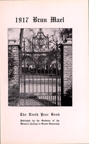 Page 4, 1917 Edition, Brown University Womens College - Brun Mael Yearbook (Providence, RI) online yearbook collection
