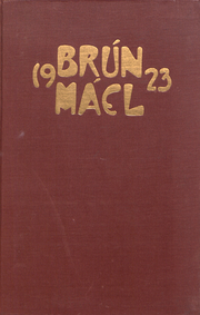Page 1, 1923 Edition, Brown University Womens College - Brun Mael Yearbook (Providence, RI) online yearbook collection