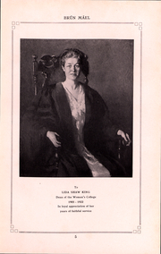 Page 5, 1923 Edition, Brown University Womens College - Brun Mael Yearbook (Providence, RI) online yearbook collection