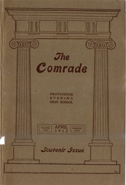 Page 1, 1912 Edition, Providence Evening High School - Comrade Yearbook (Providence, RI) online yearbook collection