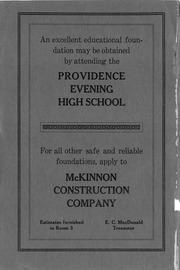 Page 2, 1912 Edition, Providence Evening High School - Comrade Yearbook (Providence, RI) online yearbook collection
