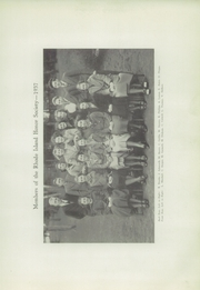 Page 15, 1937 Edition, Leander R Peck High School - Arrow Yearbook (Barrington, RI) online yearbook collection