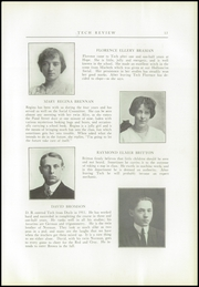 Page 17, 1914 Edition, Providence Technical High School - Review Yearbook (Providence, RI) online yearbook collection