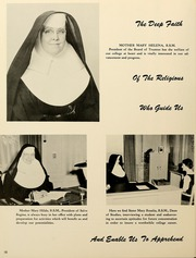Page 14, 1961 Edition, Salve Regina University - Regina Maris Yearbook (Newport, RI) online yearbook collection