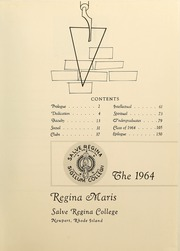 Page 5, 1964 Edition, Salve Regina University - Regina Maris Yearbook (Newport, RI) online yearbook collection