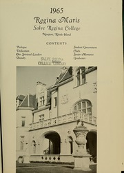 Page 5, 1965 Edition, Salve Regina University - Regina Maris Yearbook (Newport, RI) online yearbook collection