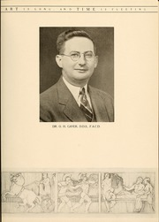 Page 9, 1936 Edition, University of Maryland Baltimore Dental School - Mirror Yearbook (Baltimore, MD) online yearbook collection