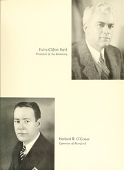 Page 11, 1941 Edition, University of Maryland Baltimore Dental School - Mirror Yearbook (Baltimore, MD) online yearbook collection
