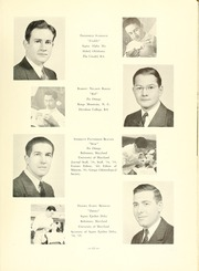 Page 17, 1941 Edition, University of Maryland Baltimore Dental School - Mirror Yearbook (Baltimore, MD) online yearbook collection