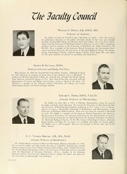 Page 14, 1943 Edition, University of Maryland Baltimore Dental School - Mirror Yearbook (Baltimore, MD) online yearbook collection