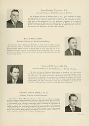Page 15, 1943 Edition, University of Maryland Baltimore Dental School - Mirror Yearbook (Baltimore, MD) online yearbook collection