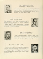 Page 16, 1943 Edition, University of Maryland Baltimore Dental School - Mirror Yearbook (Baltimore, MD) online yearbook collection