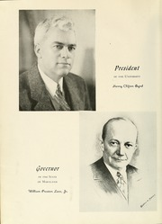 Page 10, 1947 Edition, University of Maryland Baltimore Dental School - Mirror Yearbook (Baltimore, MD) online yearbook collection