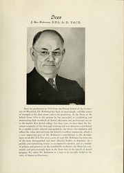 Page 11, 1947 Edition, University of Maryland Baltimore Dental School - Mirror Yearbook (Baltimore, MD) online yearbook collection