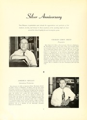 Page 12, 1951 Edition, University of Maryland Baltimore Dental School - Mirror Yearbook (Baltimore, MD) online yearbook collection