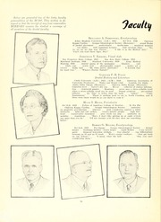 Page 16, 1951 Edition, University of Maryland Baltimore Dental School - Mirror Yearbook (Baltimore, MD) online yearbook collection