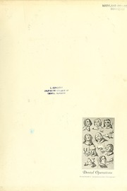 Page 3, 1951 Edition, University of Maryland Baltimore Dental School - Mirror Yearbook (Baltimore, MD) online yearbook collection