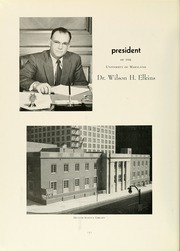 Page 10, 1960 Edition, University of Maryland Baltimore Dental School - Mirror Yearbook (Baltimore, MD) online yearbook collection