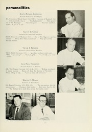 Page 13, 1960 Edition, University of Maryland Baltimore Dental School - Mirror Yearbook (Baltimore, MD) online yearbook collection