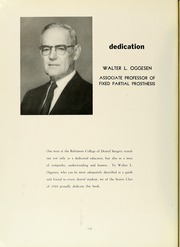 Page 6, 1960 Edition, University of Maryland Baltimore Dental School - Mirror Yearbook (Baltimore, MD) online yearbook collection