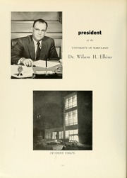 Page 12, 1961 Edition, University of Maryland Baltimore Dental School - Mirror Yearbook (Baltimore, MD) online yearbook collection
