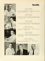Page 14, 1961 Edition, University of Maryland Baltimore Dental School - Mirror Yearbook (Baltimore, MD) online yearbook collection