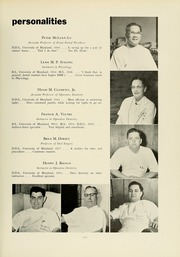 Page 15, 1961 Edition, University of Maryland Baltimore Dental School - Mirror Yearbook (Baltimore, MD) online yearbook collection