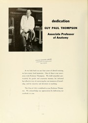 Page 6, 1961 Edition, University of Maryland Baltimore Dental School - Mirror Yearbook (Baltimore, MD) online yearbook collection
