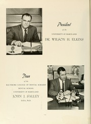 Page 8, 1964 Edition, University of Maryland Baltimore Dental School - Mirror Yearbook (Baltimore, MD) online yearbook collection
