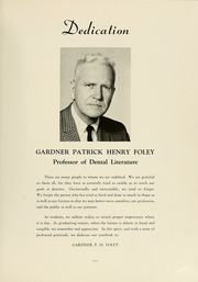 Page 9, 1964 Edition, University of Maryland Baltimore Dental School - Mirror Yearbook (Baltimore, MD) online yearbook collection