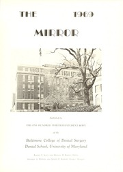 Page 5, 1969 Edition, University of Maryland Baltimore Dental School - Mirror Yearbook (Baltimore, MD) online yearbook collection