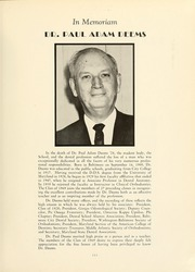 Page 7, 1969 Edition, University of Maryland Baltimore Dental School - Mirror Yearbook (Baltimore, MD) online yearbook collection