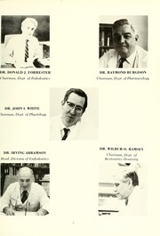 Page 11, 1972 Edition, University of Maryland Baltimore Dental School - Mirror Yearbook (Baltimore, MD) online yearbook collection