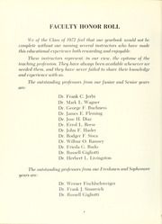 Page 12, 1972 Edition, University of Maryland Baltimore Dental School - Mirror Yearbook (Baltimore, MD) online yearbook collection