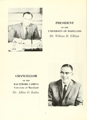 Page 6, 1972 Edition, University of Maryland Baltimore Dental School - Mirror Yearbook (Baltimore, MD) online yearbook collection