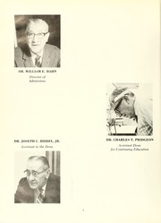 Page 8, 1972 Edition, University of Maryland Baltimore Dental School - Mirror Yearbook (Baltimore, MD) online yearbook collection