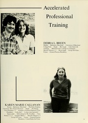 Page 57, 1980 Edition, University of Maryland Baltimore Dental School - Mirror Yearbook (Baltimore, MD) online yearbook collection