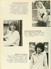 Page 68, 1980 Edition, University of Maryland Baltimore Dental School - Mirror Yearbook (Baltimore, MD) online yearbook collection