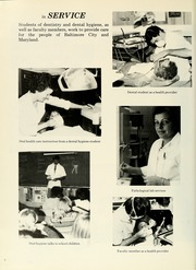 Page 8, 1982 Edition, University of Maryland Baltimore Dental School - Mirror Yearbook (Baltimore, MD) online yearbook collection