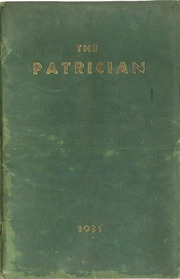 Page 1, 1931 Edition, St Patricks High School - Patrician Yearbook (Miami Beach, FL) online yearbook collection