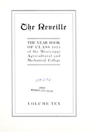 Page 11, 1915 Edition, Mississippi State University - Reveille Yearbook (Starkville, MS) online yearbook collection