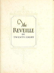 Page 5, 1928 Edition, Mississippi State University - Reveille Yearbook (Starkville, MS) online yearbook collection