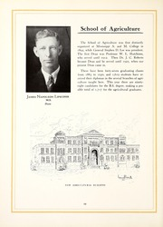 Page 16, 1930 Edition, Mississippi State University - Reveille Yearbook (Starkville, MS) online yearbook collection