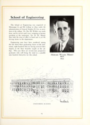 Page 17, 1930 Edition, Mississippi State University - Reveille Yearbook (Starkville, MS) online yearbook collection