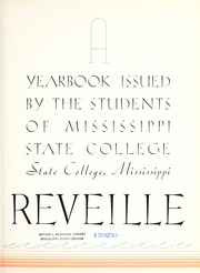 Page 7, 1936 Edition, Mississippi State University - Reveille Yearbook (Starkville, MS) online yearbook collection