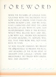 Page 9, 1936 Edition, Mississippi State University - Reveille Yearbook (Starkville, MS) online yearbook collection