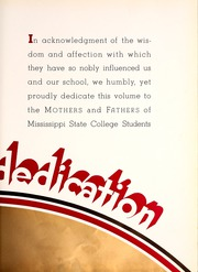 Page 13, 1937 Edition, Mississippi State University - Reveille Yearbook (Starkville, MS) online yearbook collection