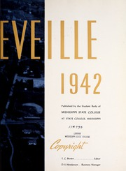Page 7, 1942 Edition, Mississippi State University - Reveille Yearbook (Starkville, MS) online yearbook collection