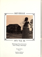 Page 5, 1971 Edition, Mississippi State University - Reveille Yearbook (Starkville, MS) online yearbook collection
